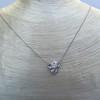 .82ctw Edwardian Bow Motif Diamond Pendant 9