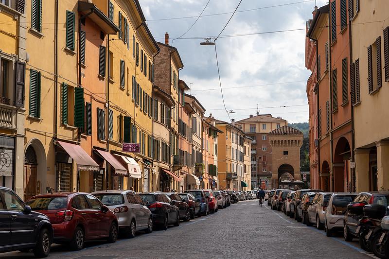 Street in Bologna, Italy
