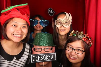 Deloitte A & A Christmas Party Photobooth Photos