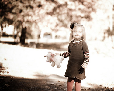 Sophia Fall Pics '09