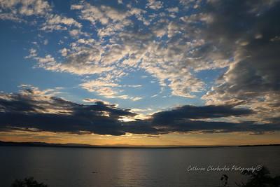 Sunsets from Starr Farm Beach