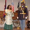 PVT Michelle L. Marable and Commander Fred Marable thank the speakers and audience for helping make the event a success.
