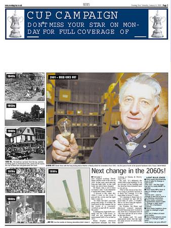 Centennial Bulb Articles