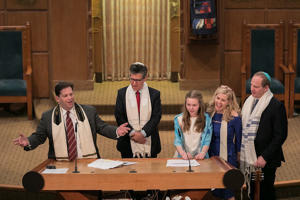 Bat Mitzvah Service Stephen Wise 13Apr2019