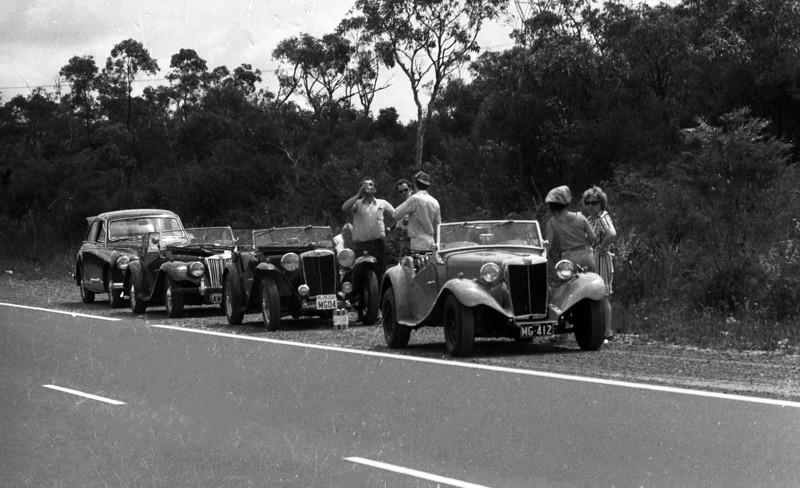 1972 MG National Rally