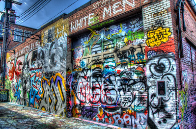 2012/08/18 Graffiti Alley, Baltimore