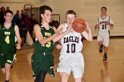 AMHS JV Boys Basketball vs WRV photos by Gary Baker