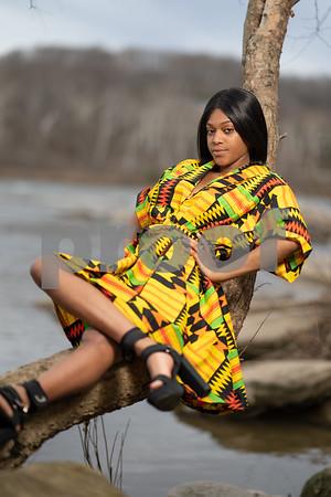 Lanea African Dress Shoot