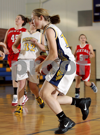 2012 Bucktail Girls JV Basketball @ Northern Potter