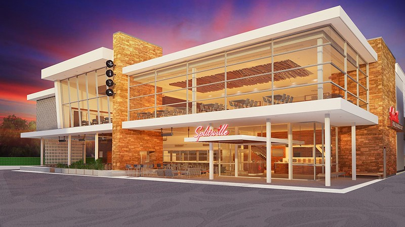 'Splitsville Luxury Lanes' to debut with mid-century modern aesthetic, bowling, and SUSHI!