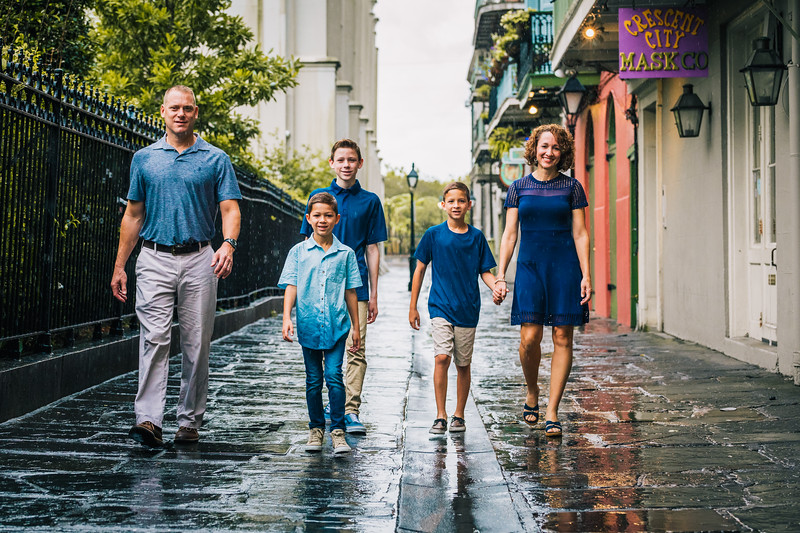 The Johnson Family - French Quarter