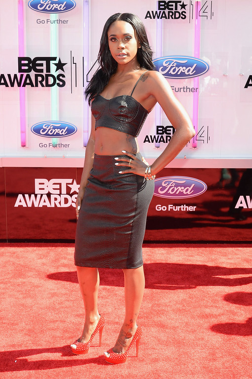 . Actress Raquel Lee attends the BET AWARDS \'14 at Nokia Theatre L.A. LIVE on June 29, 2014 in Los Angeles, California.  (Photo by Earl Gibson III/Getty Images for BET)