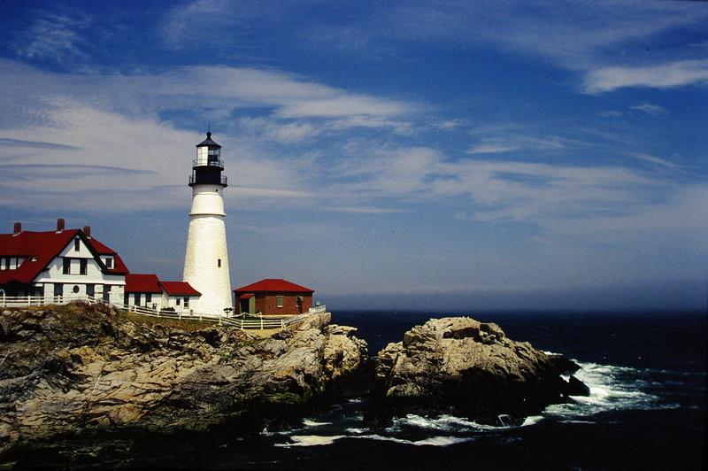 Maine lighthouse.