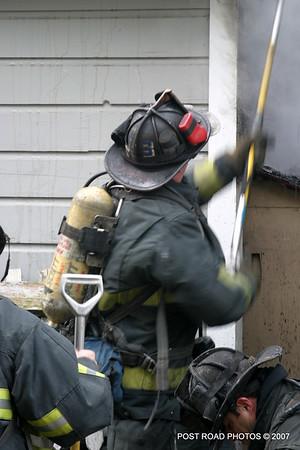 Garage Fire ~ Wade Street
