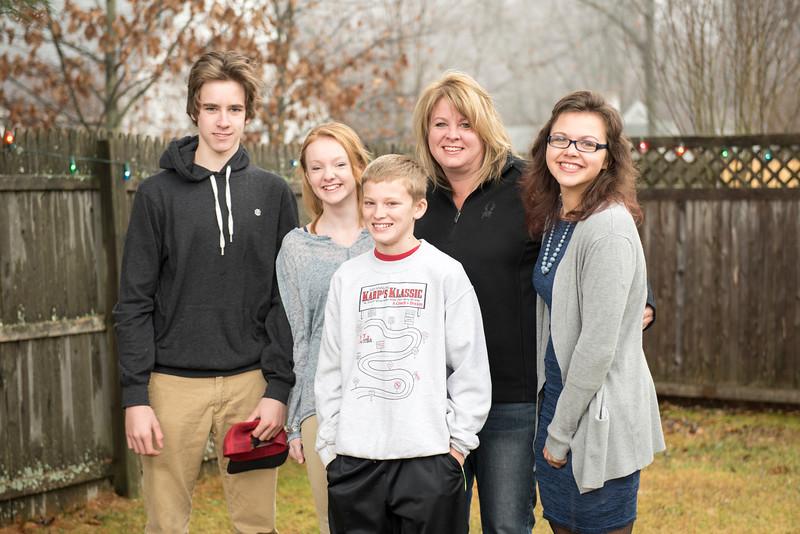 Tracy & Family