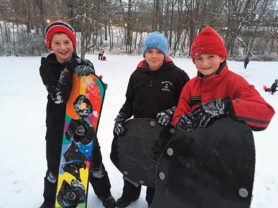 1-12-15 Simon, Tayton and Eden in snow