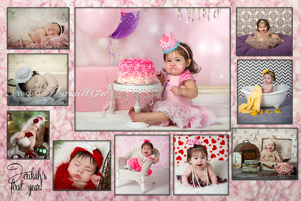 Stephanie W 1 yr collage