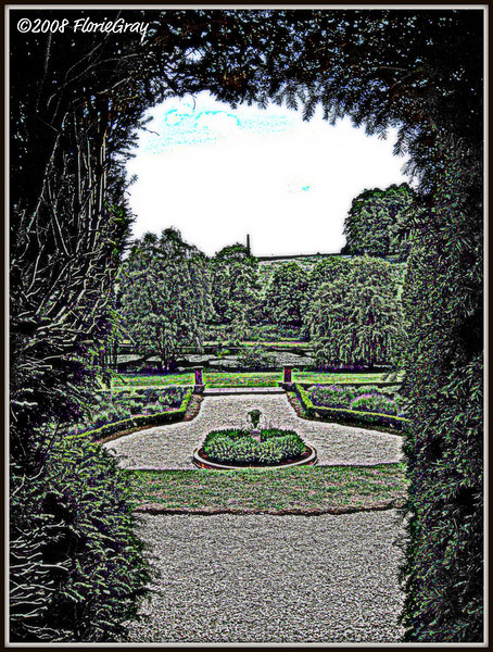 Delights Beyond the Hedgerow; Wroxton Abbey   ©2008 FlorieGray