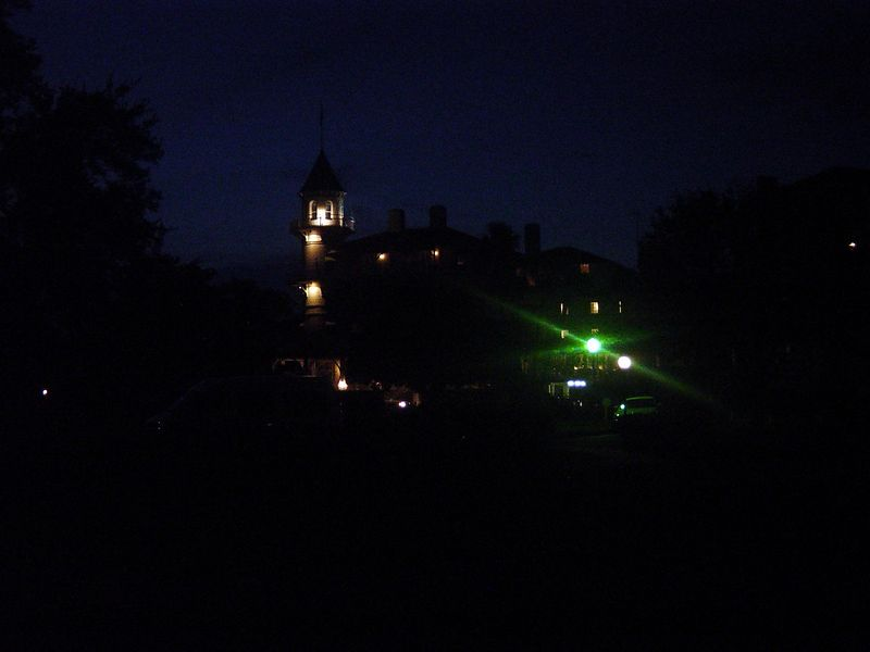 Night scene of the Club