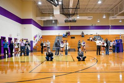 PRHS Volleyball Senior Night