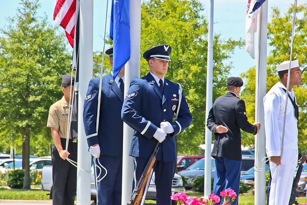 Virginia Beach Memorial Day Service 2013