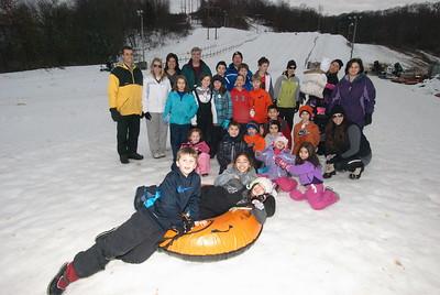 HOPE and JOY Snowtubing - February 10, 2013