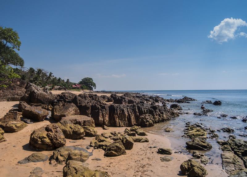 Beach on island Ko Lanta