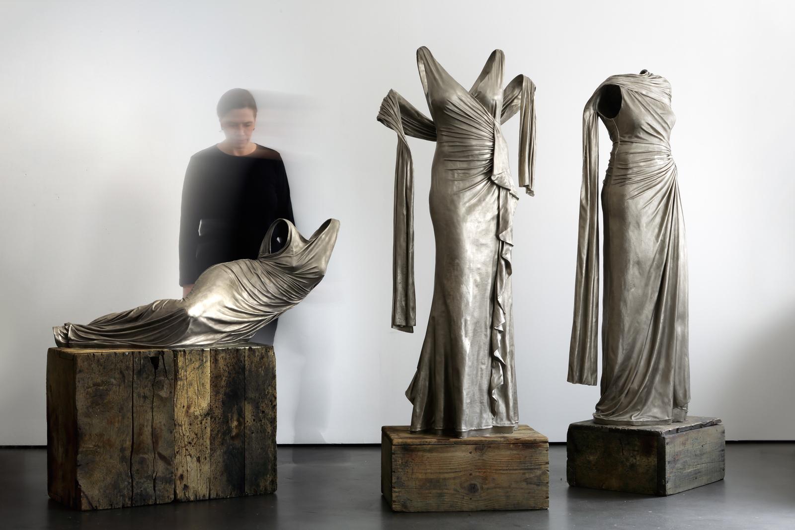 Nocturnes Installation – White Bronze