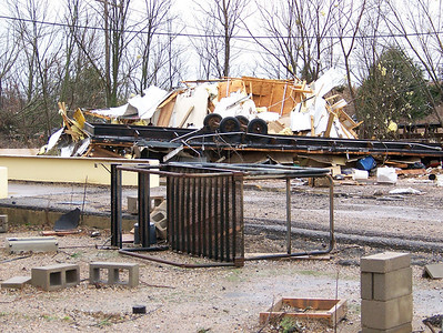 Tornado Hits North Plant...