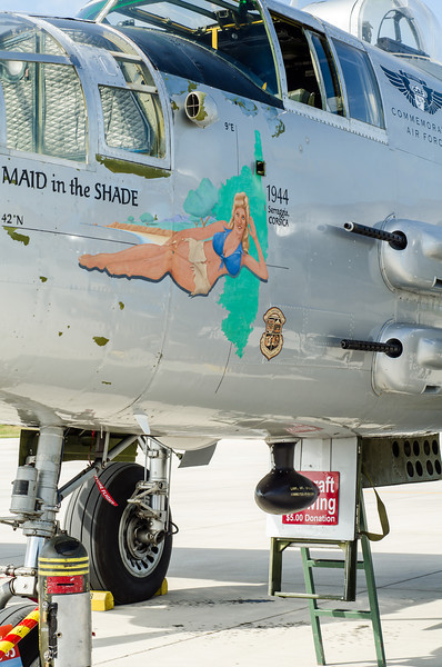 """B-25 """"Maid in the Shade"""""""