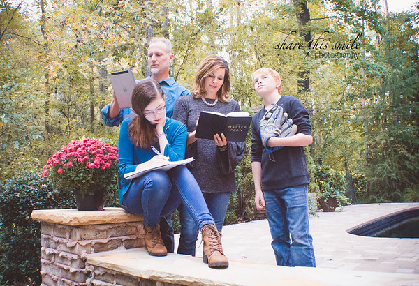 {Fall Sessions} The Jackley's At Home