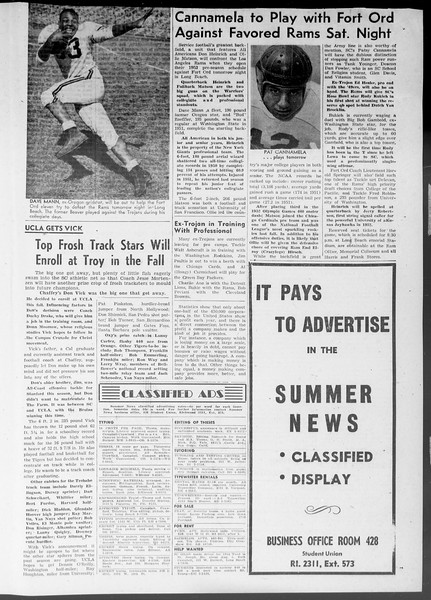 Summer News, Vol. 8, No. 12, July 31, 1953