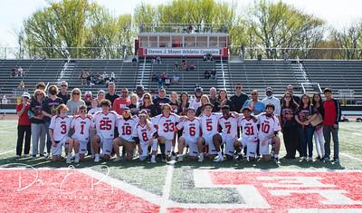 RHS Lacrosse Senior Day
