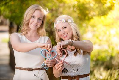 Jacie and Lauren SDSU Grads!