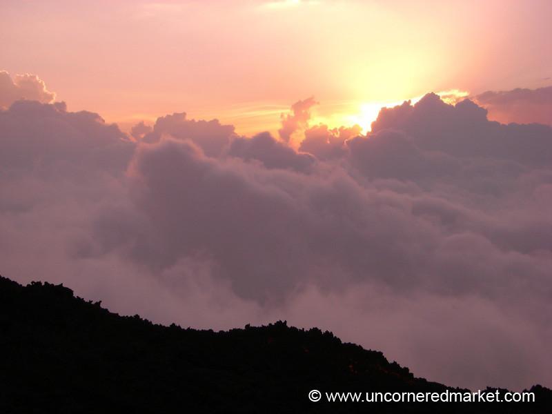 Sunset at Pacaya Volcano - Guatemala