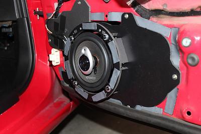 1993 Mazda RX7 R1 Model Non Bose Front Door Speaker Installation - USA