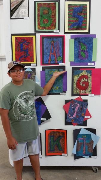 2015-08-01 Rock County Fair Displays