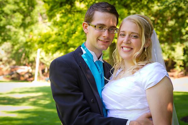 Provo Temple Wedding
