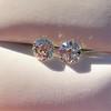 1.80ctw Old European Cut Diamond Pair GIA K VS2 / K VS2 5