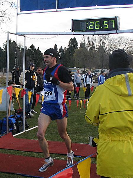 2005 Canadian XC Championships - Bachop third after winning Gunner Shaw last weekend