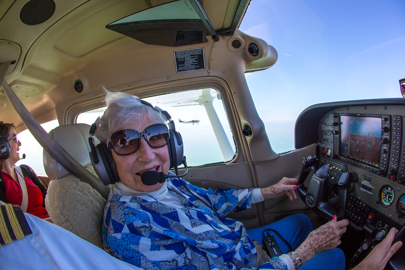 Wish of a Lifetime - Mary's Discovery Flight