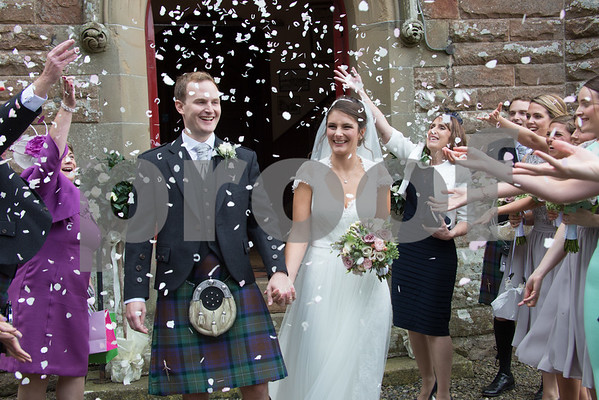 Stow Wedding and Dalhousie Castle