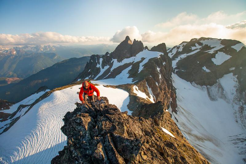 Ridge Climbing