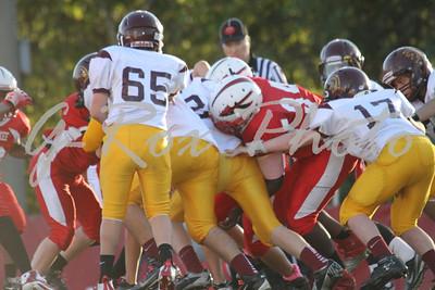 2012-10/20 7th Grade JR Warriors vs JR Trojans