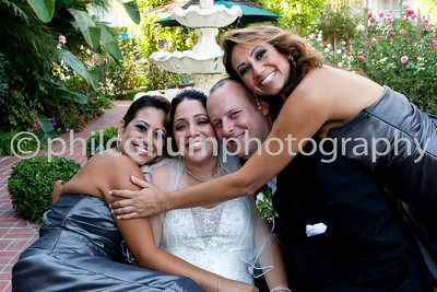 Bride, Groom and Wedding Party Portraits