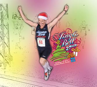 Jingle Bell 2 miler, 2012