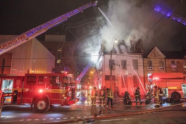 November 2, 2019 - 4th Alarm - 85 Shuter St.