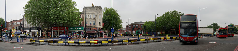 View From Morden Station