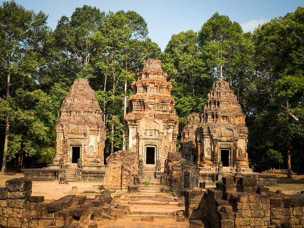 Preah Ko, Bakong, and Lolei