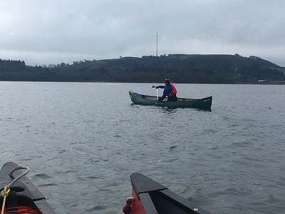 Canoe Training Session Winter 2017